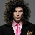 2013 Long Curly Hairstyles for Men