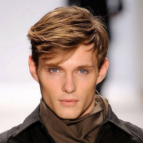 2013 Men Fashion Hairstyles Wear Your Attitude   Emo Hairstyles for Men