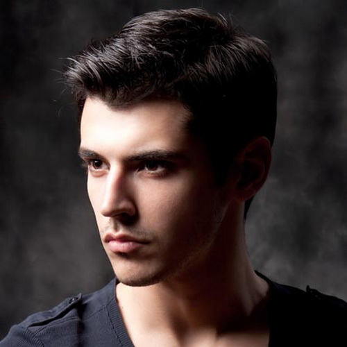 Black Thick Hairstyle for Men Mens Hairstyles for Thin Hair