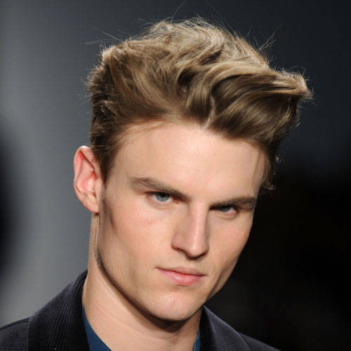 Blonde Hairstyles for Wavy Hair Wavy Hairstyles for Men
