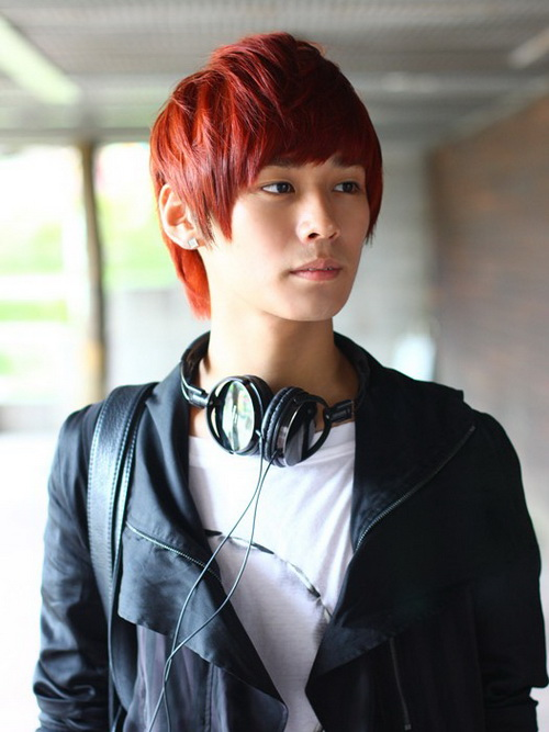 Colored Men Hairstyles Korean