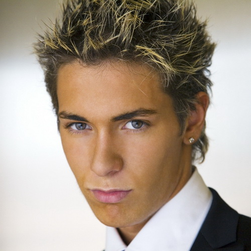 Cool Colored Hairstyle Hairstyles for Teenage Guys