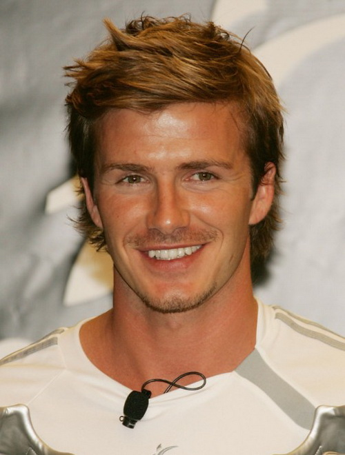 David Beckham Layered Hairstyles Cool Hairstyles for Men