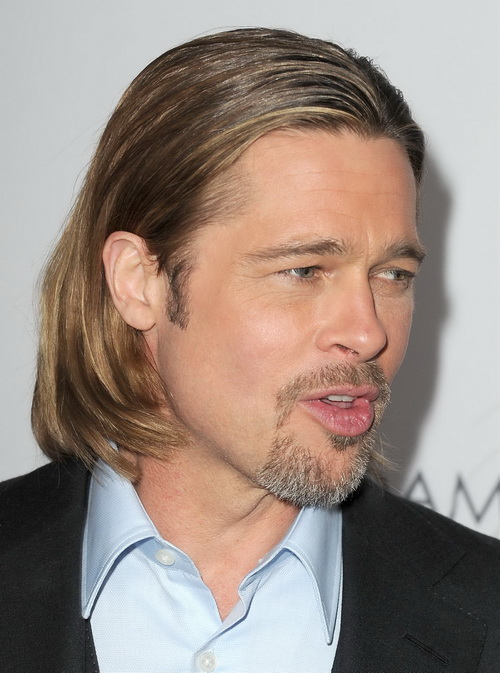 Long Haircut Brad Pitt Long Hairstyles for Men