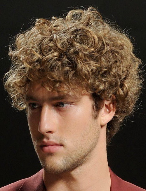 Men Curly Hair Styles Rocking Haircut Styles for Men