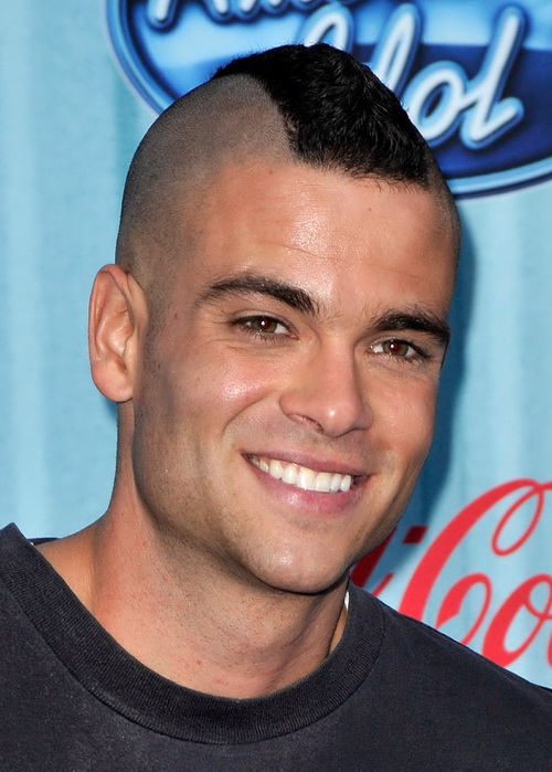 Men Very Short Mohawk Hair Mohawk Hairstyles for Men