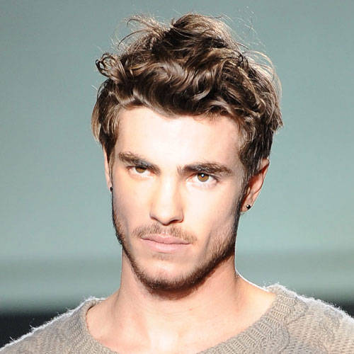 Men Wavy Hairstyle 2013 Wavy Hairstyles for Men
