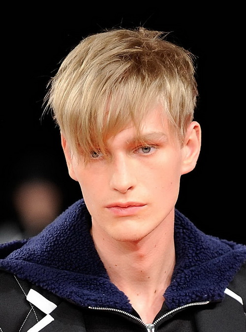 Hairstyle Haircuts for Fine Thin Hair Men