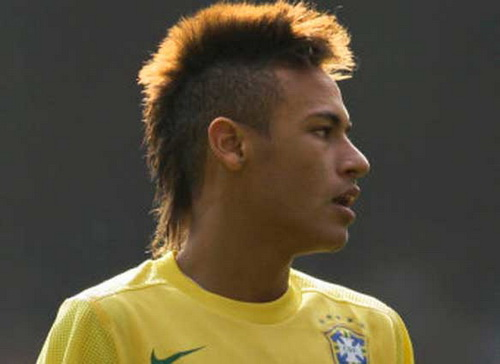 Mohawks Hairstyles by Neymar Mohawk Hairstyles for Men