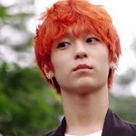 Orange Hair Color for Men