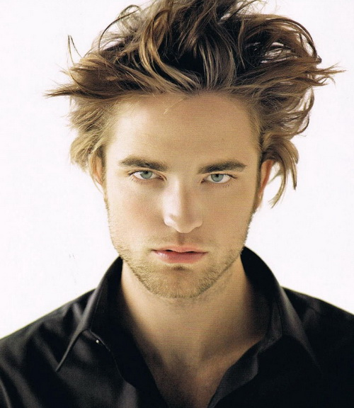 Robert Pattinson Messy Hairstyle Messy Hairstyles for Men