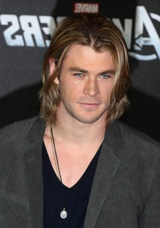 Chris Hemsworth Celebrity Hairstyle Male Celebrity Hairstyles