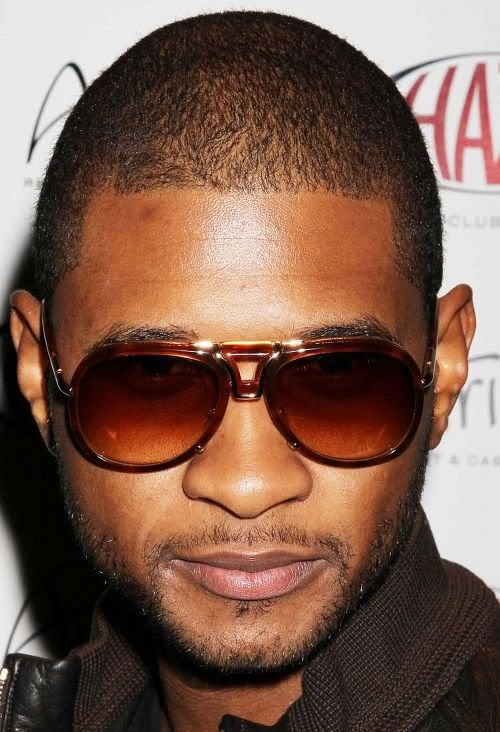 Usher buzz cut African American Hairstyles for Men