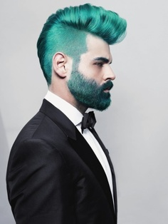 green hair colors Top Men Hair Colors