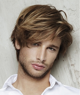 straight hairstyles men 5 Take a Stand With Your Straight Hair!