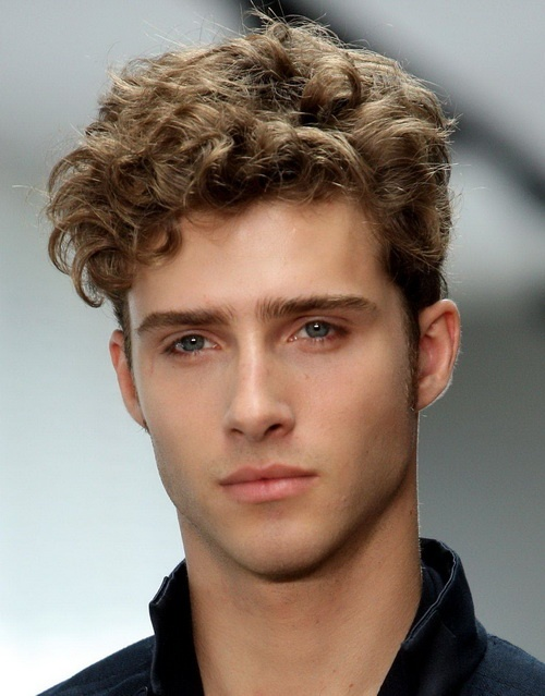 Curly Haired Man 2 Best Cuts For Curly Hair   The Dream Look For Any Curly Haired Man